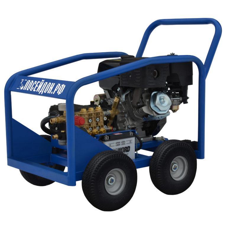 Водоструйный аппарат Посейдон В15-350-15 (ВНА-Б-350-15) с бензоприводом 350 бар, 15 л/мин