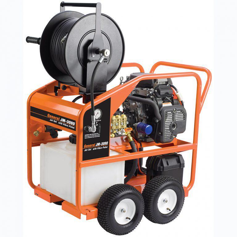 Водоструйный аппарат JМ-3080, Honda 20 л.с., 207бар, 35л/мин от компании General Pipe Cleaners