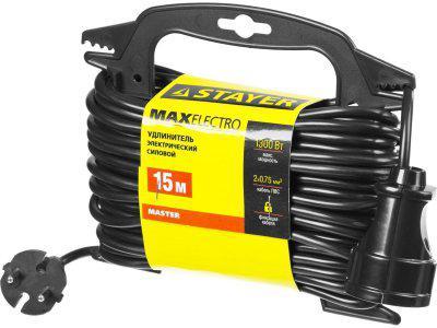 Удлинитель электрический на маленькой рамке Stayer Master 55014-15