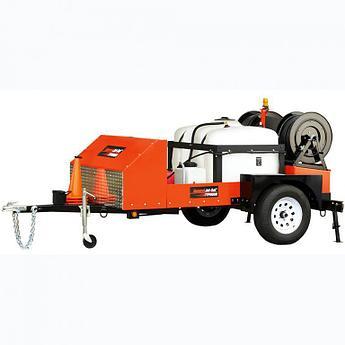 Водоструйная машина JM-2512 от General Pipe Cleaners (США)