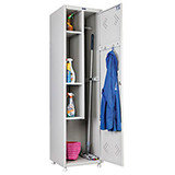 Шкаф для одежды и уборочного инвентаря ШРМ 500У