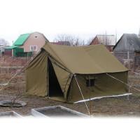 Палатка военная 3X4 м. брезентовая - фото 3