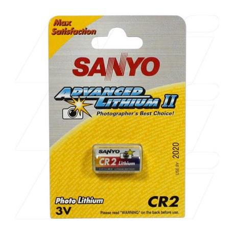 Батарейка литиевая SANYO CR2 (в блистере)