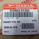 Прокладка ГБЦ YANMAR 3D84-3L-SFN, фото 3