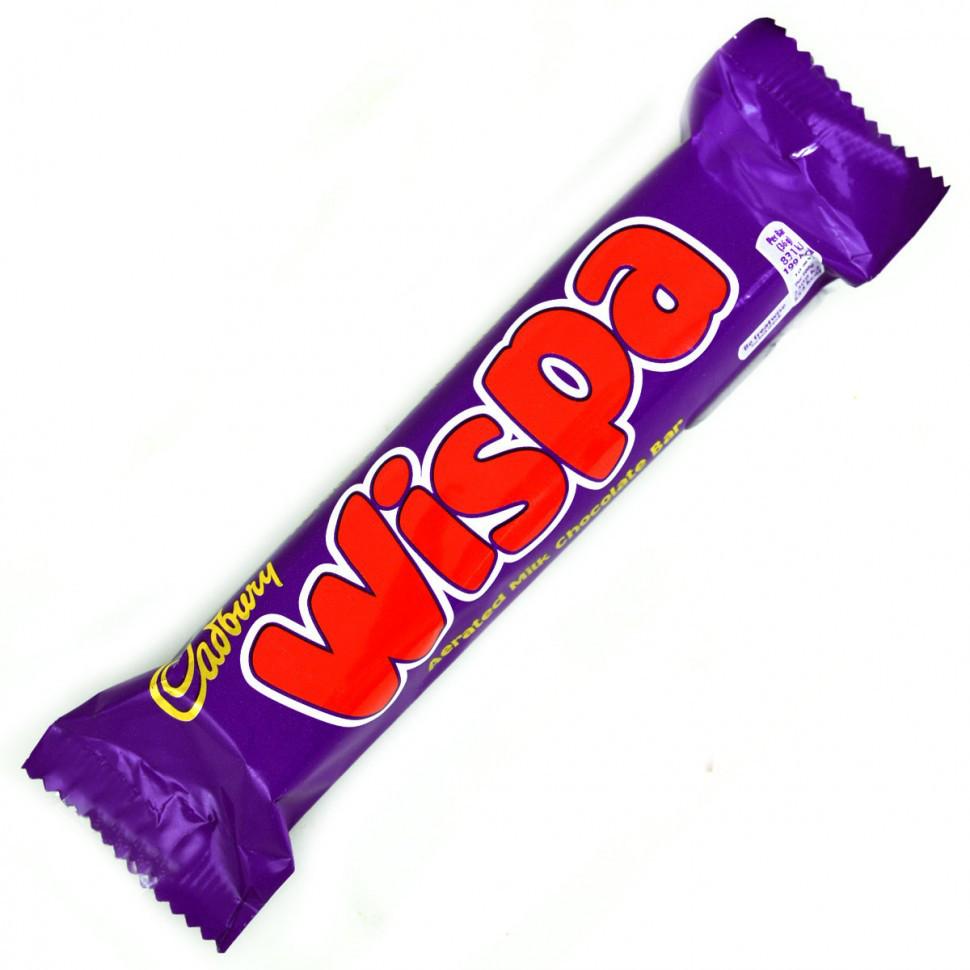 Шоколадный батончик Cadbury Wispa 36гр (48шт-упак)