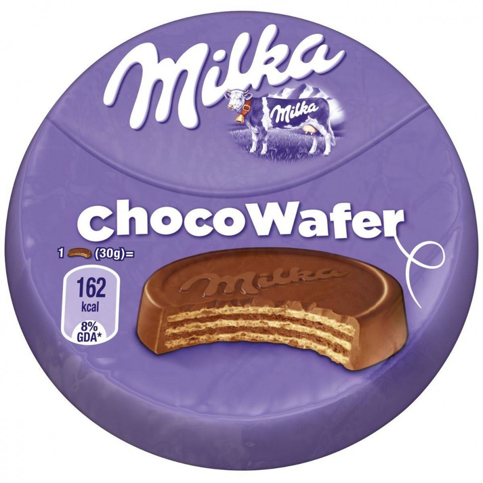 Milka Choco Wafer 30гр (30шт - упак)