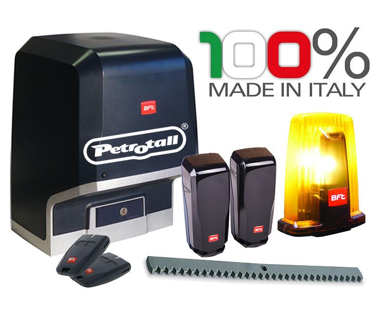 Привод для откатных ворот KIT ARES BT A1000 (масса ворот до 1000кг.) в комплекте. BFT-Италия