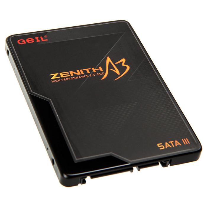 """Внутренний твердотельный накопитель 60GB 2.5"""" SSD GEIL GZ25A3-60G"""
