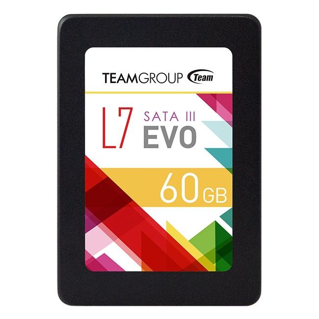 Внутренний твердотельный накопитель Team Group  60GB SSD 2,5 Team L7 Evo T253L7060GTC101