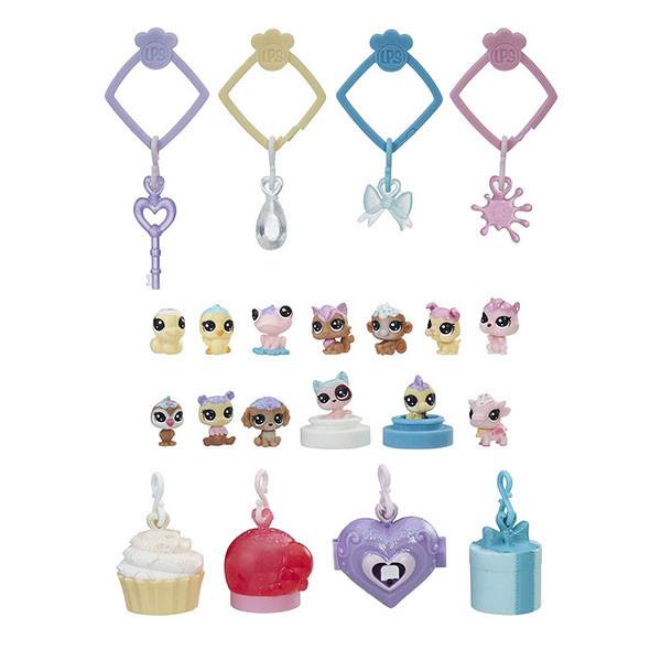 Hasbro Littlest Pet Shop E0400 Литлс Пет Шоп Набор игрушек 13 Зефирных Петов