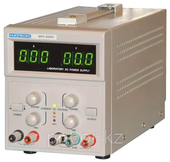 MATRIX MPS3005D Одноканальный источник постоянного напряжения (30 В, 5 А)