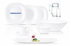 Столовый сервиз Luminarc Neo Carine White 46 предметов на 6 персон, фото 2