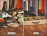 Органайзер для обуви Shoes Under c жесткими стенками!, фото 2