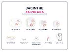 Столовый сервиз Luminarc Neo Carine Jacinthe 46 предметов на 6 персон, фото 5