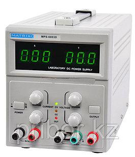 MATRIX MPS-6003D Одноканальный источник постоянного напряжения (60 В, 3 А)