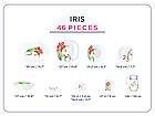 Столовый сервиз Luminarc Neo Carine IRIS 46 предметов на 6 персон, фото 3