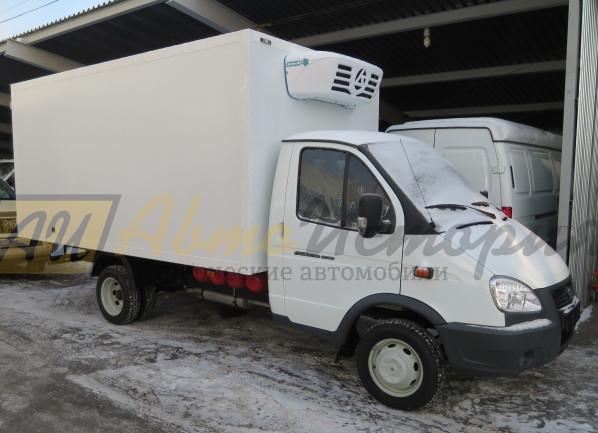 Газ 33026. Изотермический фургон 4,2 м. ХОУ