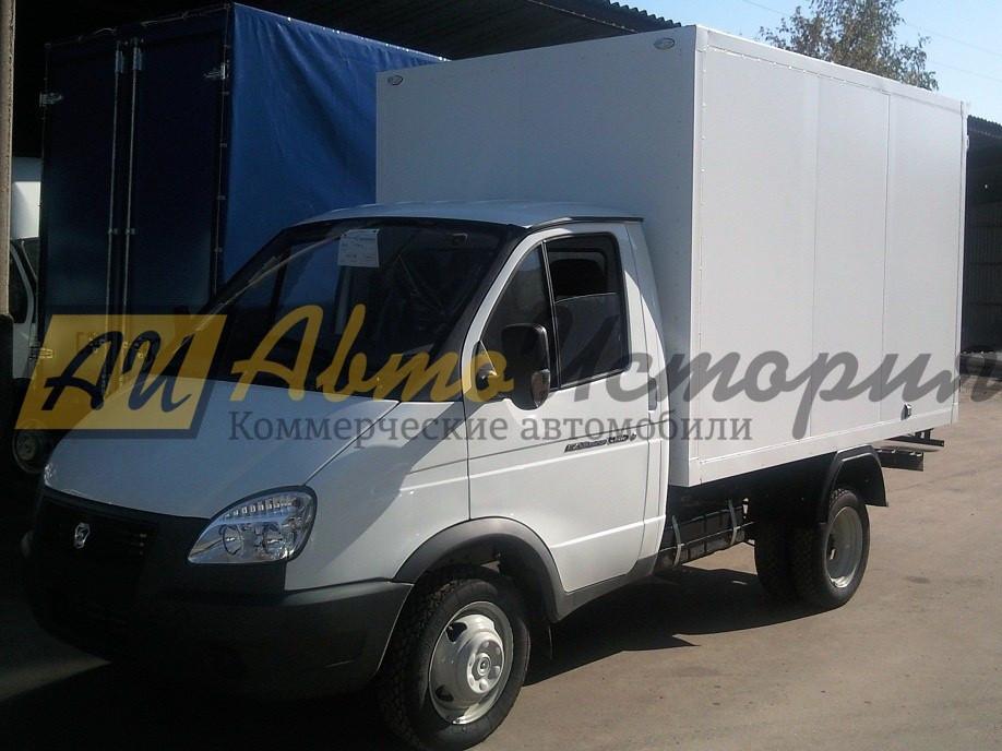 Газ 3302.  Изотермический фургон 3,0 м.