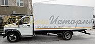 Газон Некст. Изотермический фургон 6,2 м., фото 2