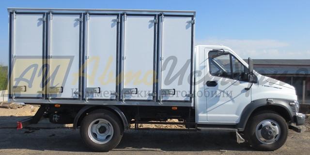 Газон Некст.  Хлебный фургон (200 лотков).