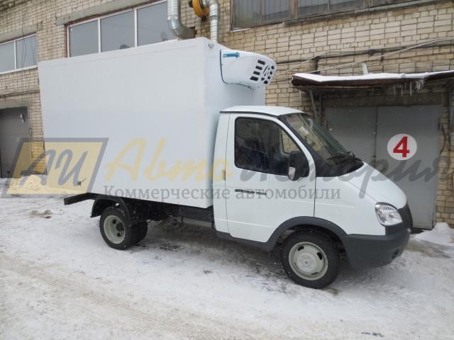 Газ 3302. Изотермический  фургон 3,0 м.  ХОУ.