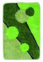 Коврик зеленый/круги