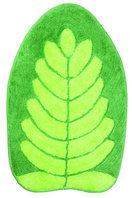Коврик зеленый/лист фигур.