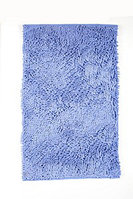Коврик микрофибра синий