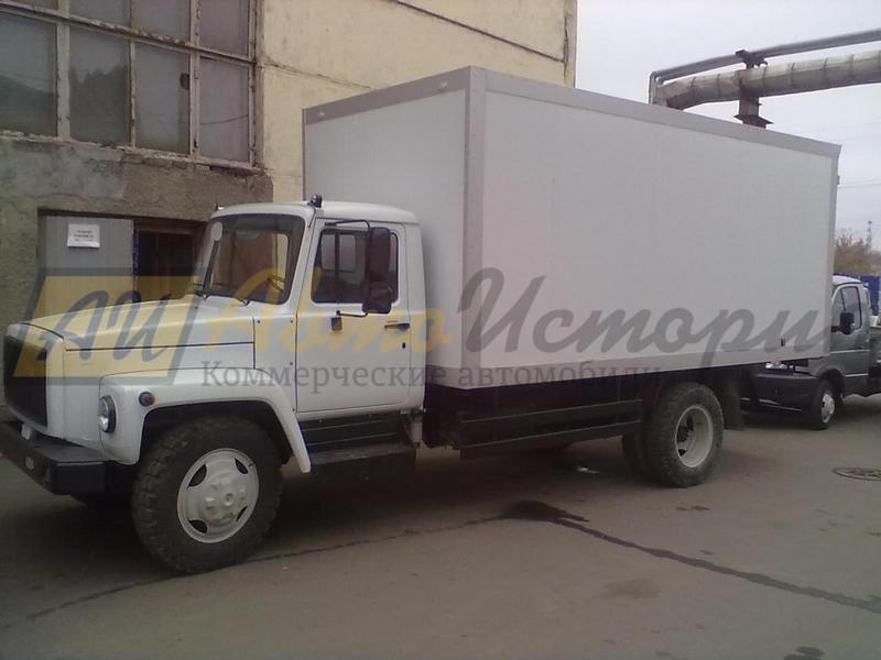 "Газ 3309 ""Газон"". Изотермический фургон (ППУ) 5,1 м."