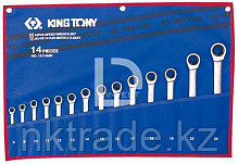Набор ключей комби с трещоткой 14 пр. (8-24мм)