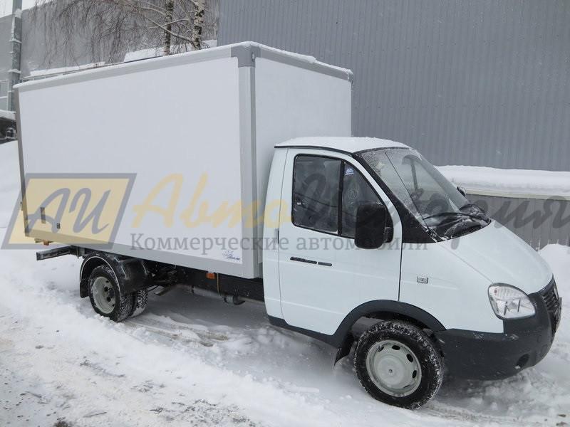 Газ 3302. Изотермический фургон 3,9 м. (премиум).