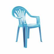 Кресло детское голубое М2525