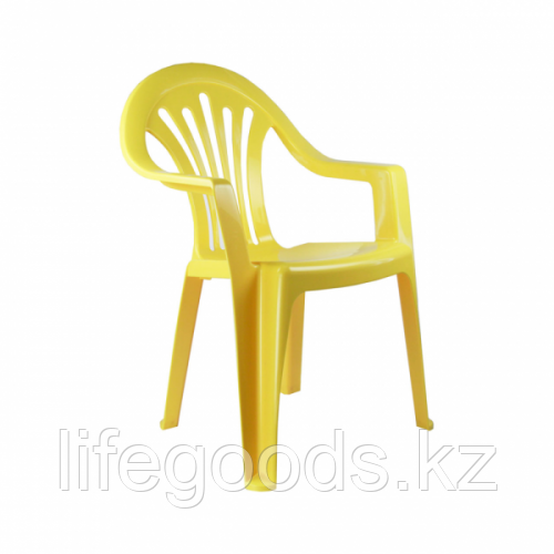 Кресло детское (желтый) (уп5) М2526