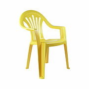 Кресло детское (желтый) (уп5) М2526 М2526