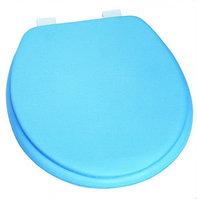 Сиденье для унитаза голубое
