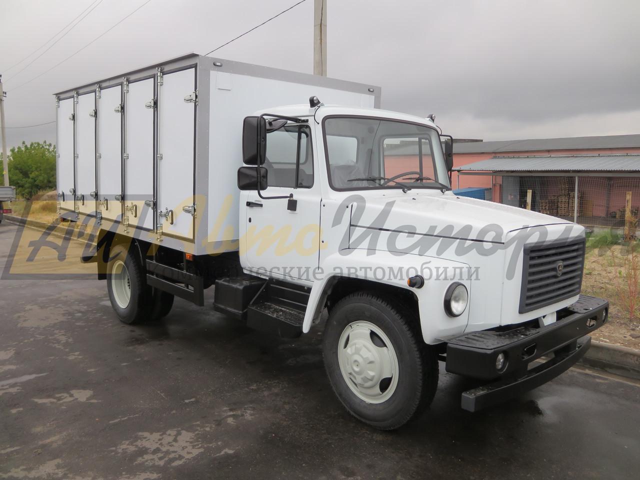Газ 3309. Хлебный фургон (200 лотков).