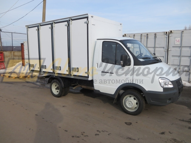 Газ 3302. Хлебный фургон, (144 лотка).