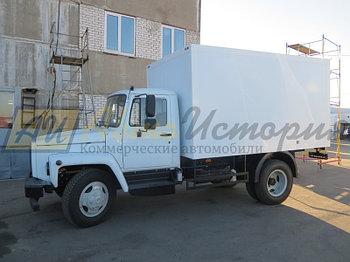 """Газ 3309 """"Газон"""". Промтоварный фургон 4,0 м."""