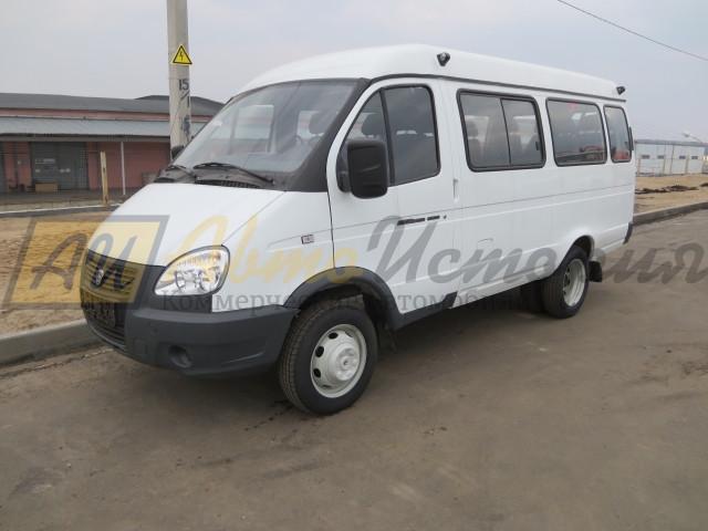Газ 3221, автобус (8 мест)