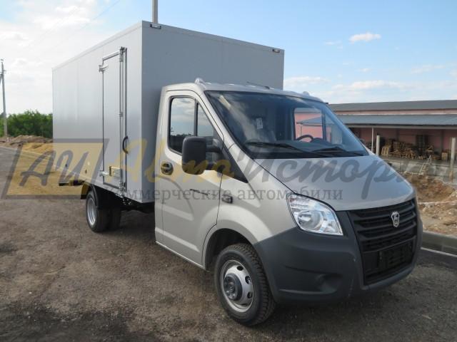 Газель Next.  Промтоварный фургон 4,2 м.