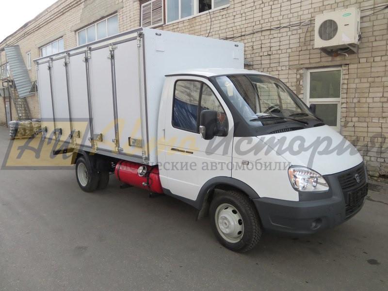 Газ 33025. Хлебный фургон (160 лотков).