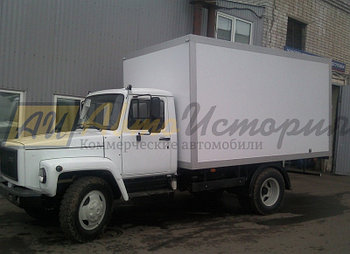 "Газ 3309 ""Газон"". Изотермический фургон (ППУ) 4 м."