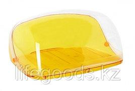 Хлебница КРИСТАЛЛ малая оранжевый прозрачный (6шт) М1185