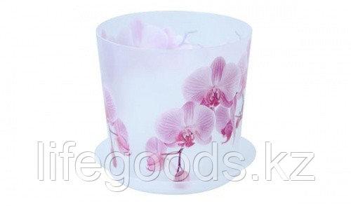 Кашпо ДЕКО D160мм 2,4л с подставкой орхидея, фото 2