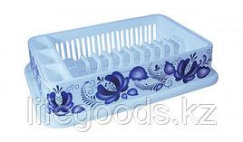 Сушилка для посуды ДЕКО гжель М1172