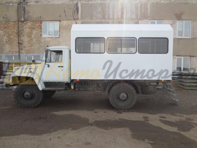 Газ 33088. Вахтовый автобус (20 мест).