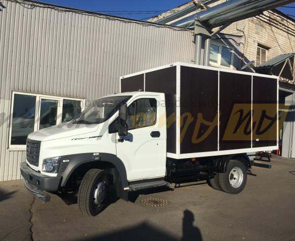 Газон Некст. Промтоварный фургон 3,6 м.