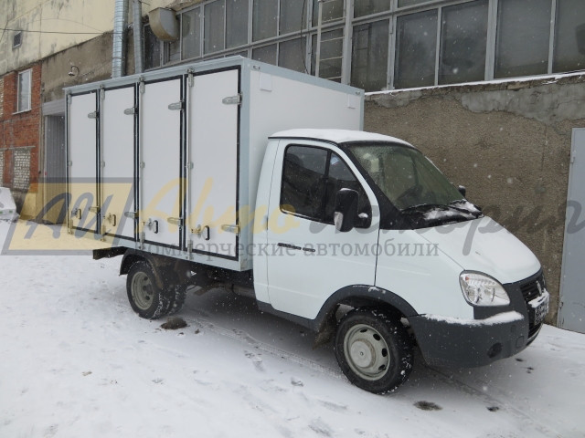 Газ 3302. Хлебный фургон, (128 лотка).