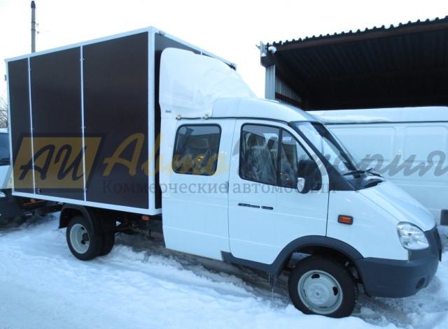 Газ 33023 (фермер). Промтоварный фургон 3,0 м.