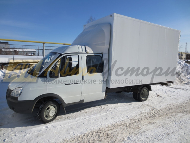 Газ 33023 (фермер). Изотермический фургон 3,0 м.